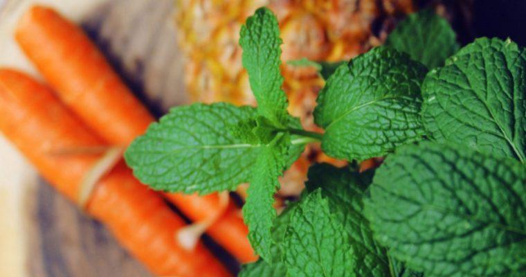 Sweet & Minty Carrot Salad