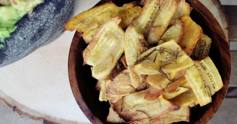 Rosemary Plantain Chips